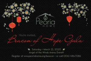 MARCH 21, 2020 Join us! Beacon of Hope Gala Event Details are here